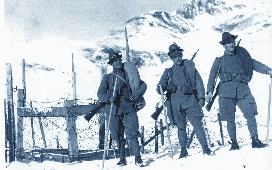 Primi Alpini foto antica
