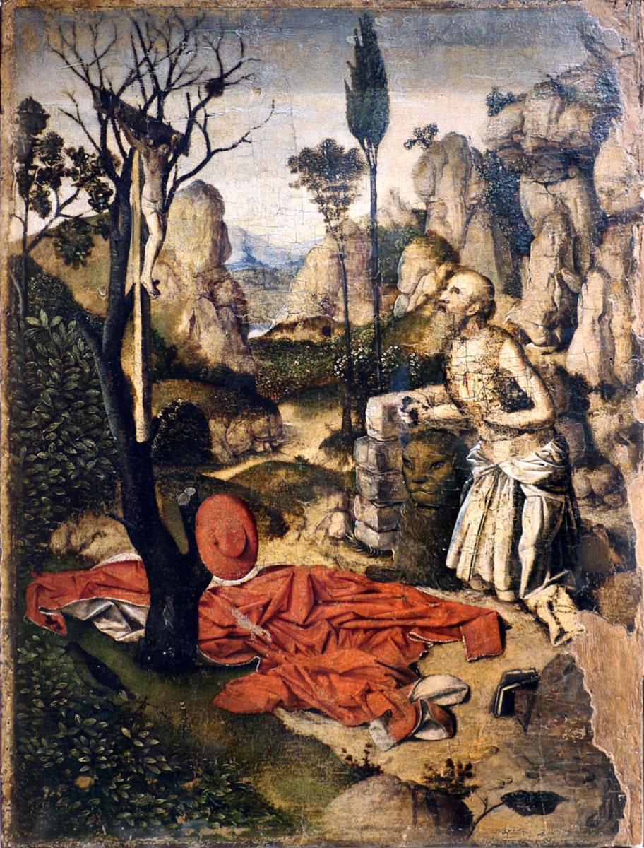 San Girolamo penitente, Antonello da Messina, quadro picture