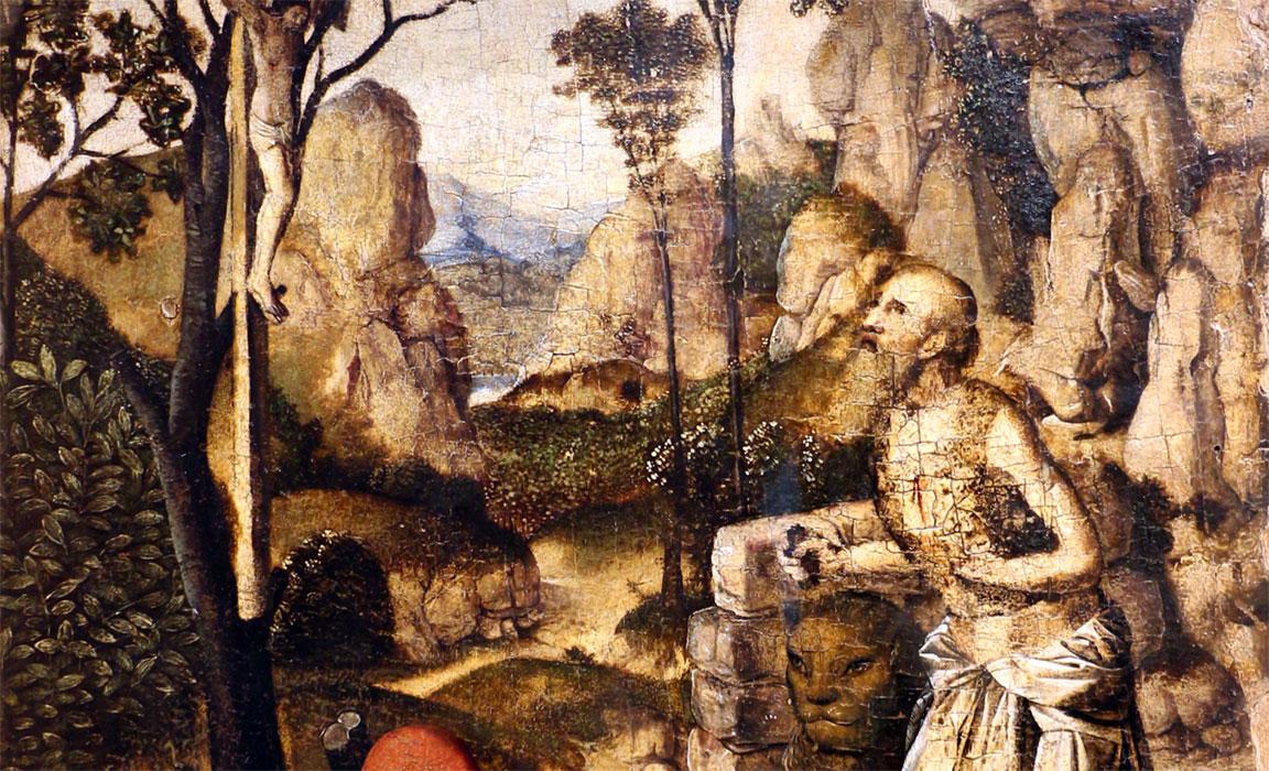 San Girolamo Penitente Antonello