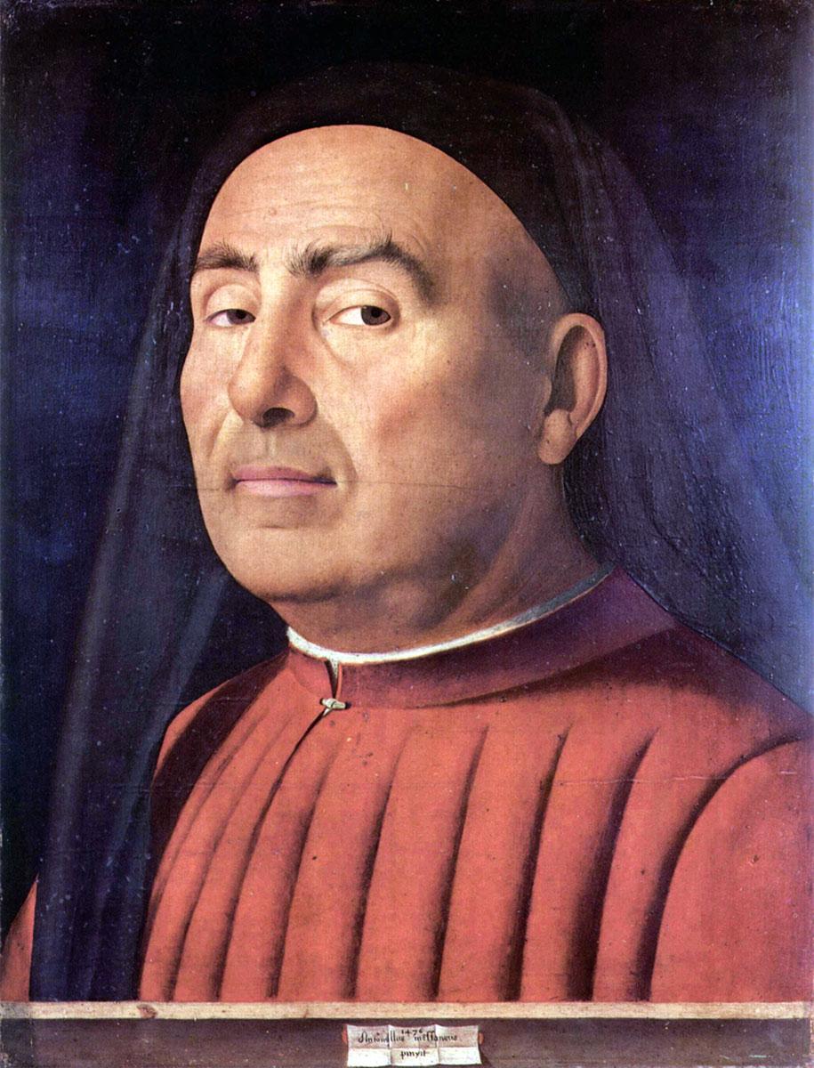 Ritratto Trivulzio, Antonello da Messina (ritratto d'uomo)