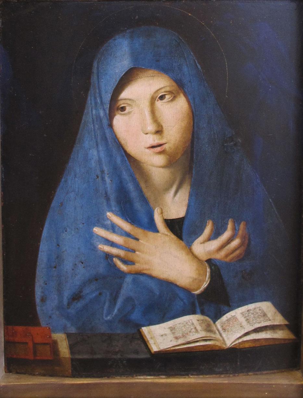 Annunciata (Monaco), opera di Antonello da Messina