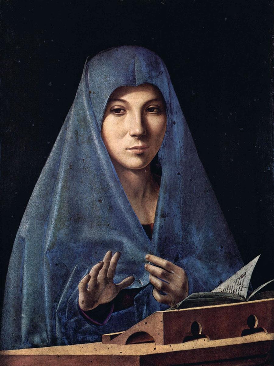 Annunciata di Palermo - Antonello da Messina
