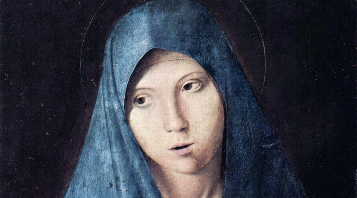 Annunciata (Monaco) - Antonello da Messina - volto