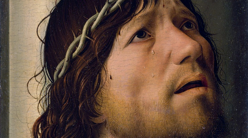 Cristo alla colonna dettaglio
