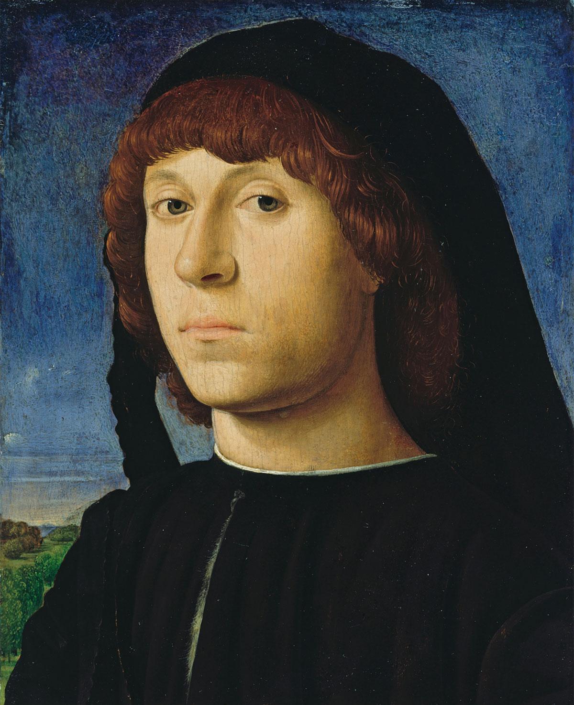 Ritratto di giovane uomo (Berlino): dipinto di Antonello da Messina (1478 circa)