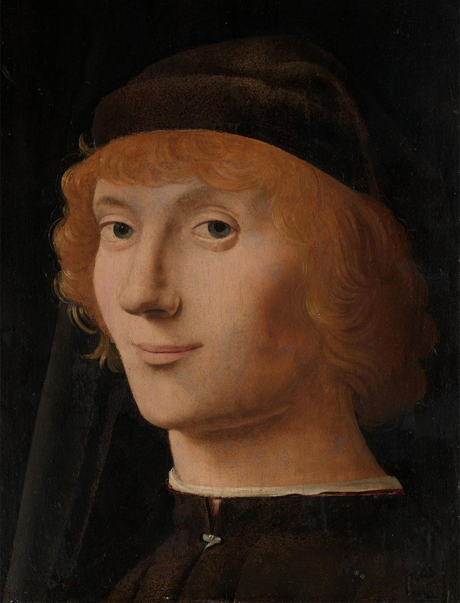 Ritratto di Giovane (New York), Antonello da Messina, 1470-1471