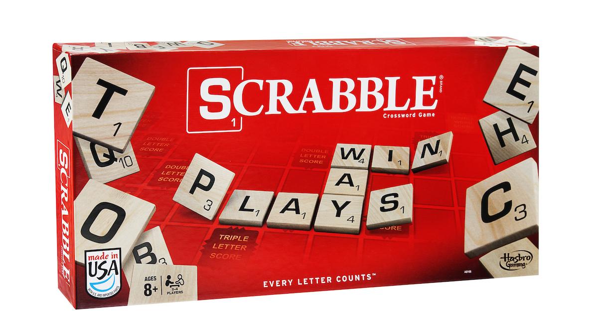 Scatola di Scrabble, crosswords game - versione italiana di Scarabeo