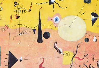 Paesaggio catalano (Il cacciatore) - quadro di Joan Miró