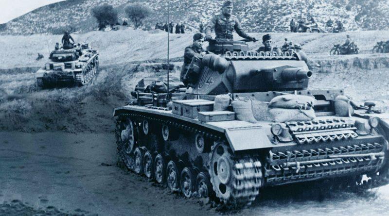 Carri armati Panzer durante la Campagna del Nordafrica del 1940-1943