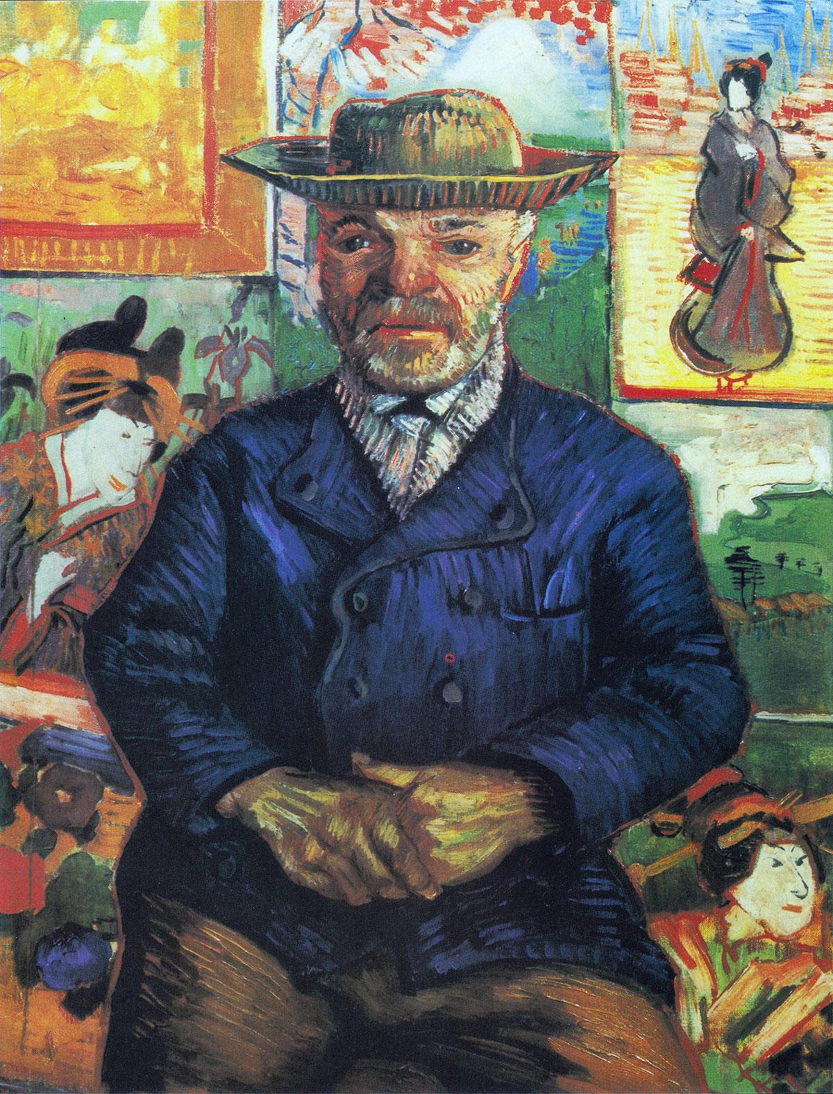 Ritratto di père Tanguy (1887, opera di Vincent van Gogh) – Versione principale