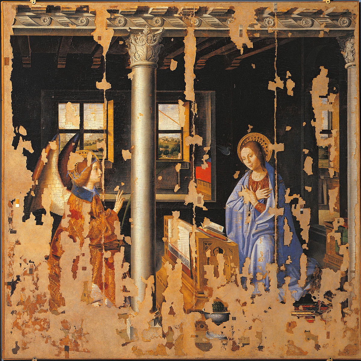 Annunciazione, opera di Antonello da Messina (1474)
