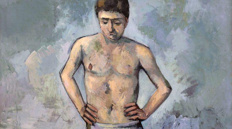 Bagnante (Baigneur - Bather) - quadro di Cezanne - dettaglio 1200x675