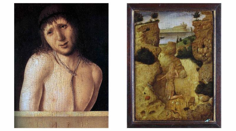Tavoletta di Antonello da Messina: Ecce homo (fronte) e San Girolamo penitente (retro) - Analisi dell'opera