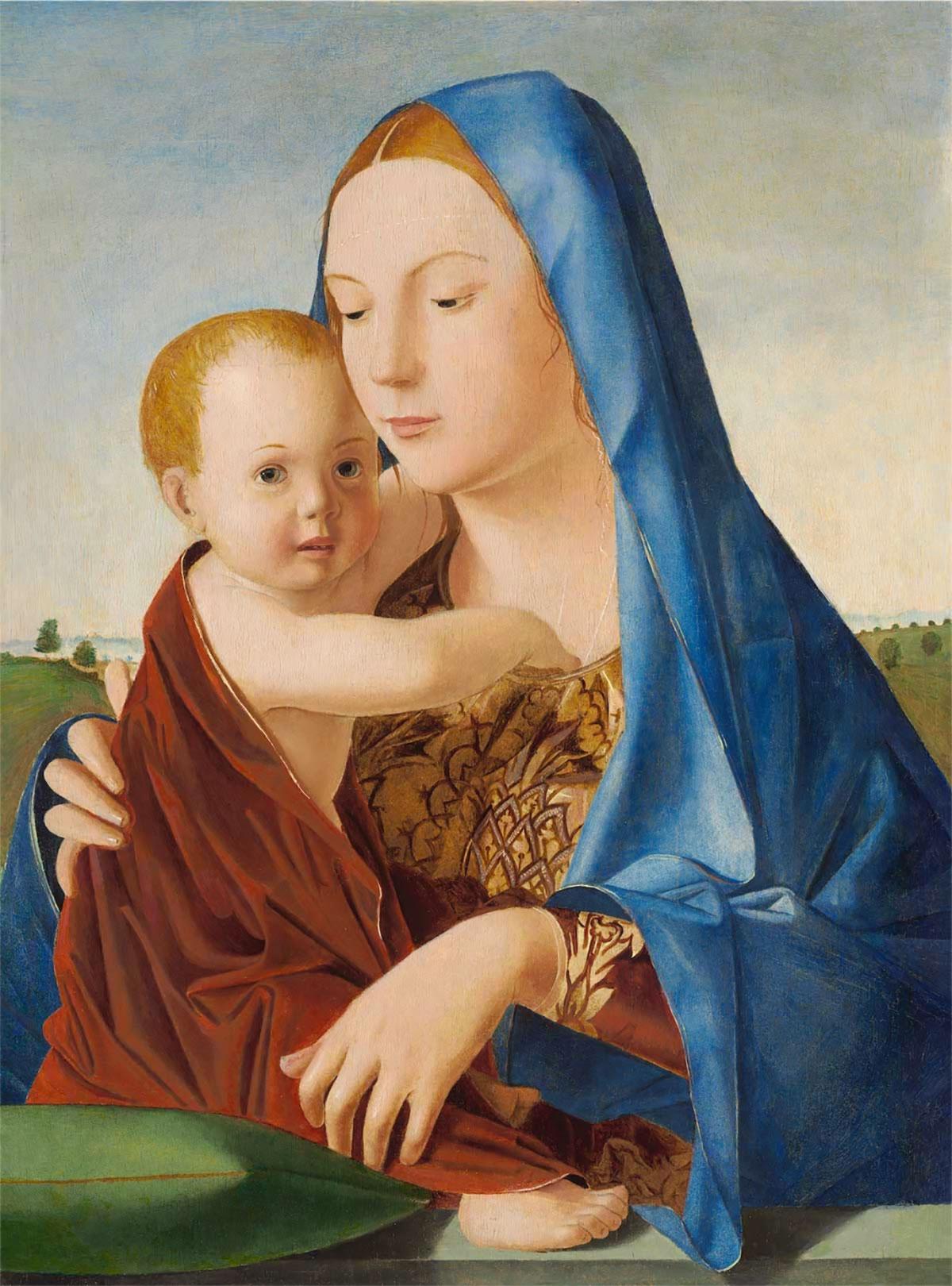 Madonna col Bambino (Madonna Benson), di Antonello da Messina
