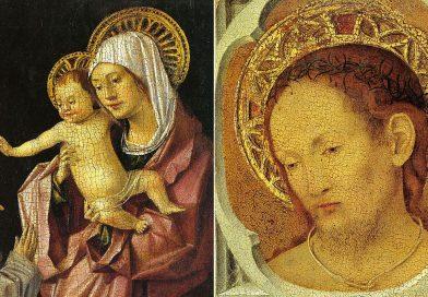 Madonna con Bambino e Cristo in Pietà: tavoletta (fronte e retro) di Antonello da Messina