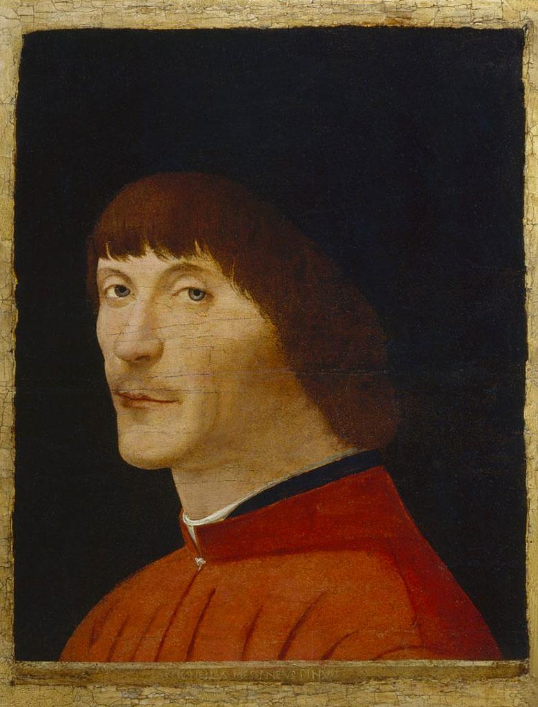 Ritratto d'uomo - Antonello da Messina (collezione Malaspina)