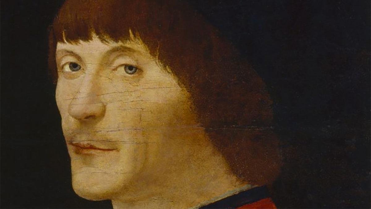 Ritratto d'uomo (Malaspina) - Antonello da Messina (dettaglio)
