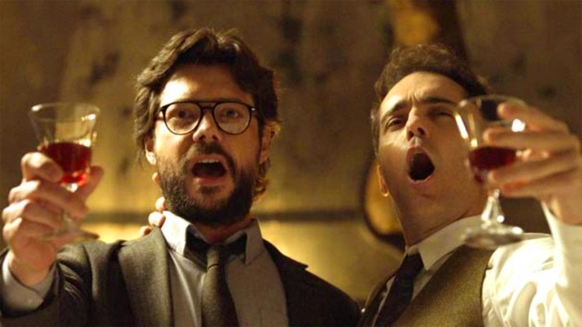 La casa di carta: due dei protagonisti cantano assieme Bella ciao