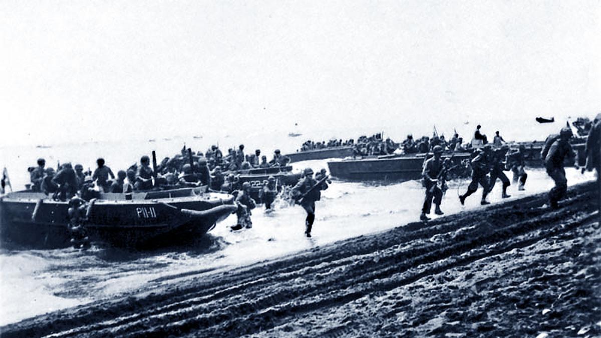 Campagna di Guadalcanal: sbarco dei Marines USA