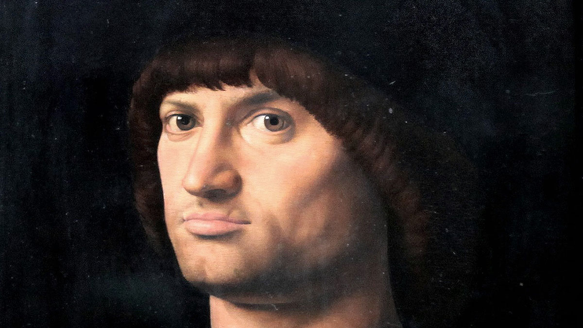 Condottiero, Antonello da Messina