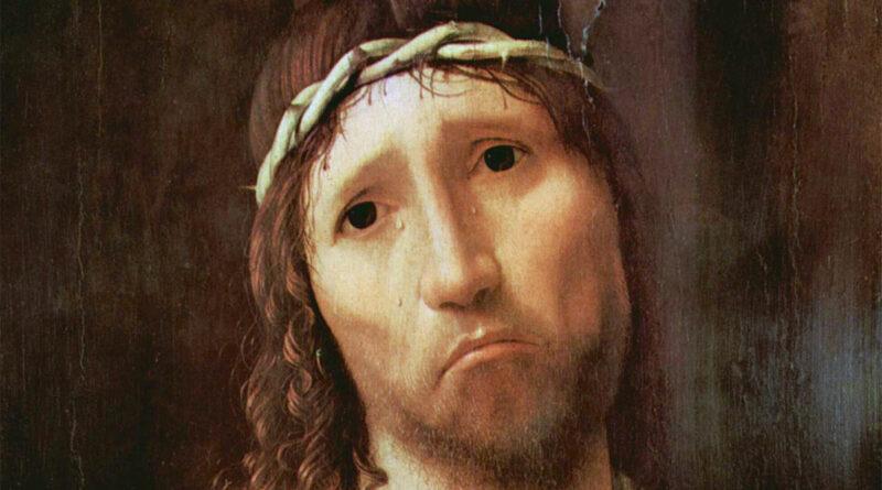 Ecce homo 1475 Antonello