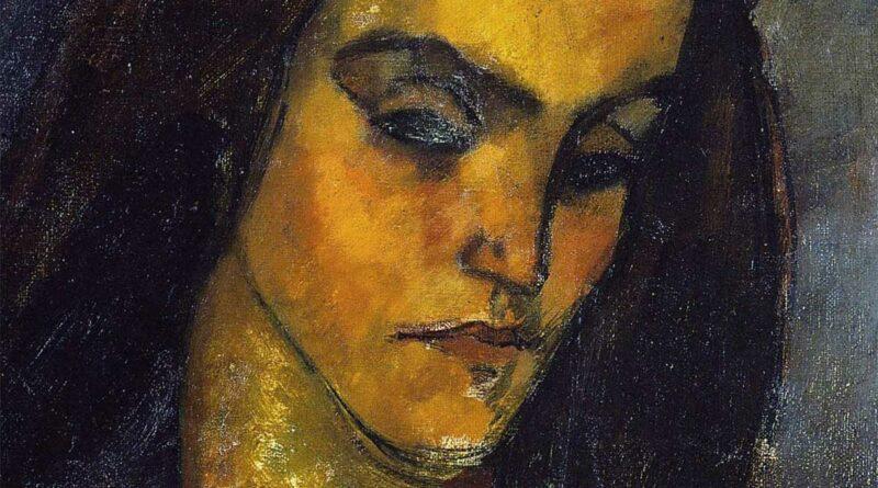 La mendicante - ritratto di Amedeo Modigliani
