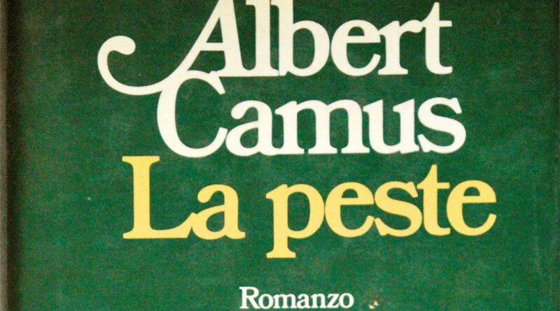 La peste copertina verde del libro