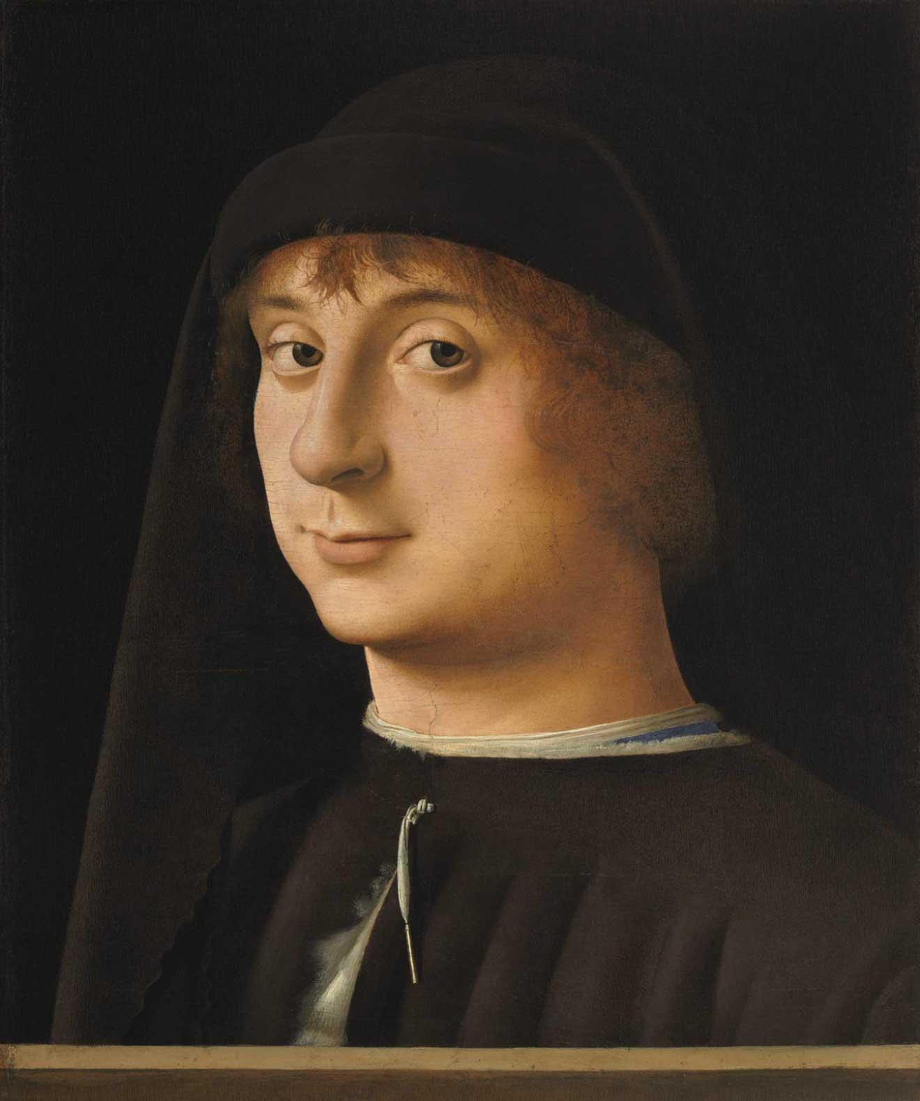 Ritratto di giovane (Portrait of a Young Gentleman), quadro di Antonello da Messina