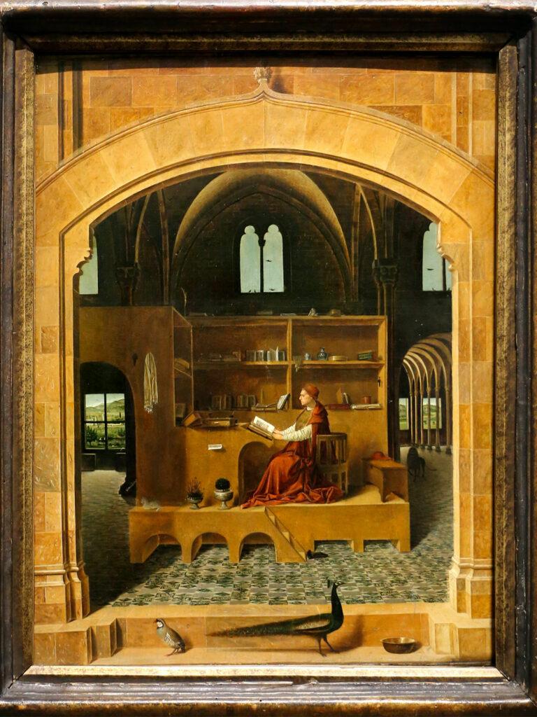 San Girolamo nello studio, analisi dell'opera di Antonello da Messina