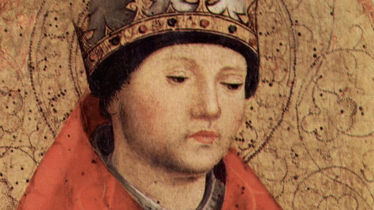 San Gregorio Magno, Antonello da Messina