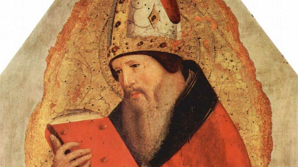 Sant'Agostino portrait