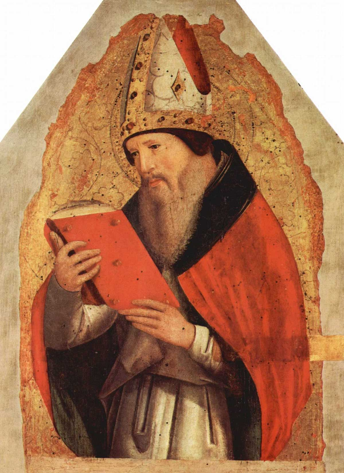 Sant'Agostino - opera del 1472 di Antonello da Messina