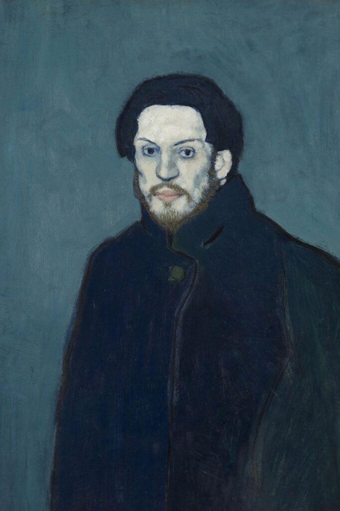 Autoritratto di Pablo Picasso (1901)