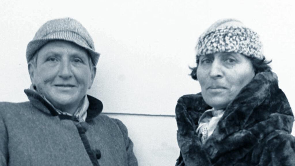 Gertrude Stein con Alice Babette Toklas