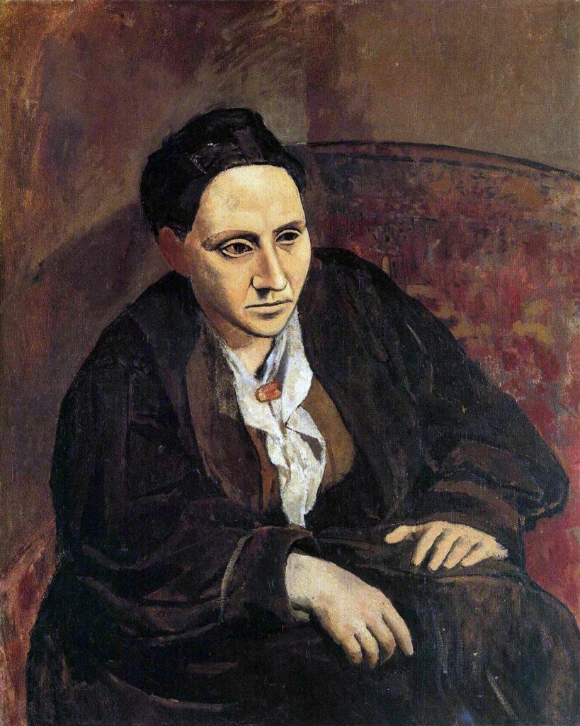 Ritratto di Gertrude Stein (1905, Pablo Picasso)