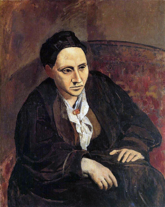 Ritratto di Gertrude Stein, quadro di Picasso