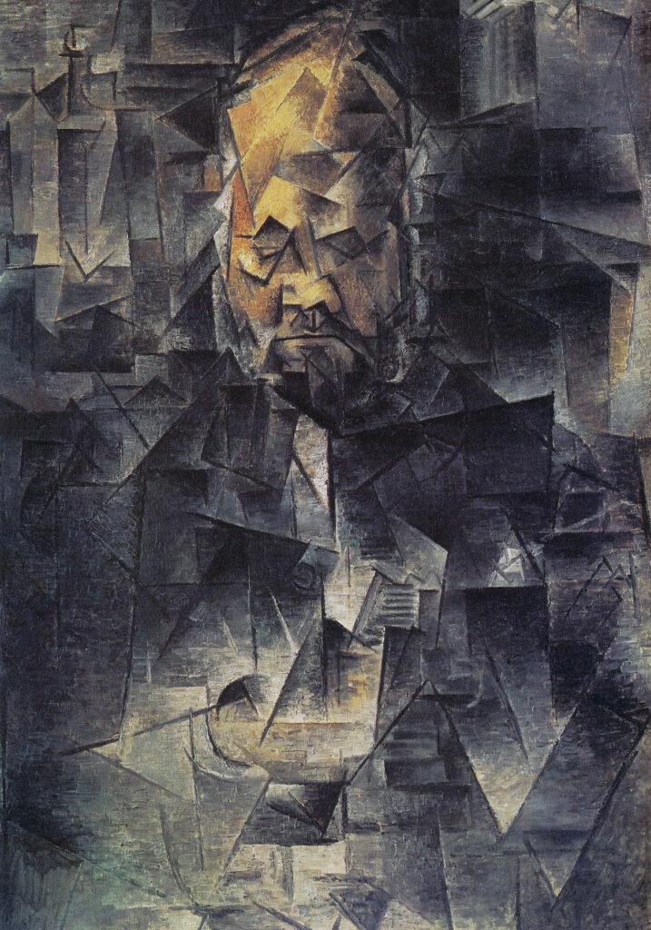 Ritratto di Ambroise Vollard, quadro di Picasso (portrait)
