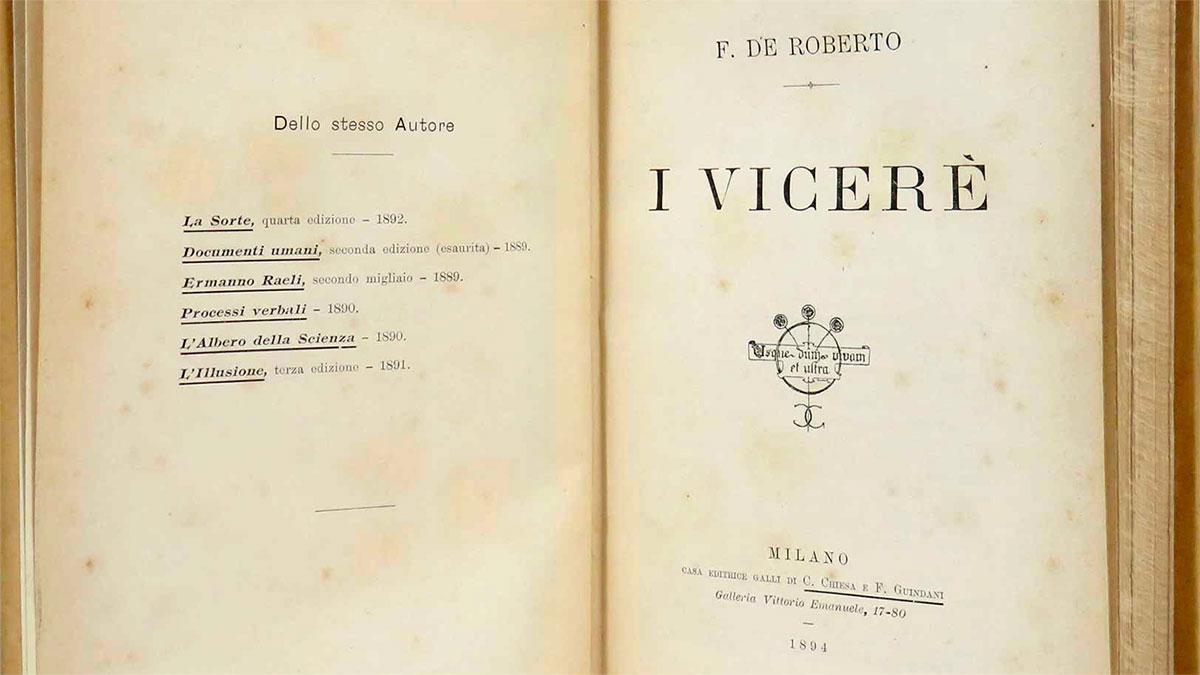 I Viceré, Federico De Roberto