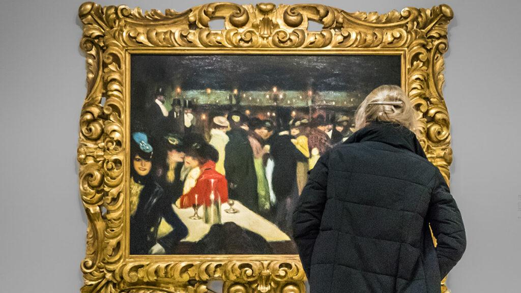 New York: Il Moulin de la Galette di Picasso, esposto nelle sale del museo Guggenheim