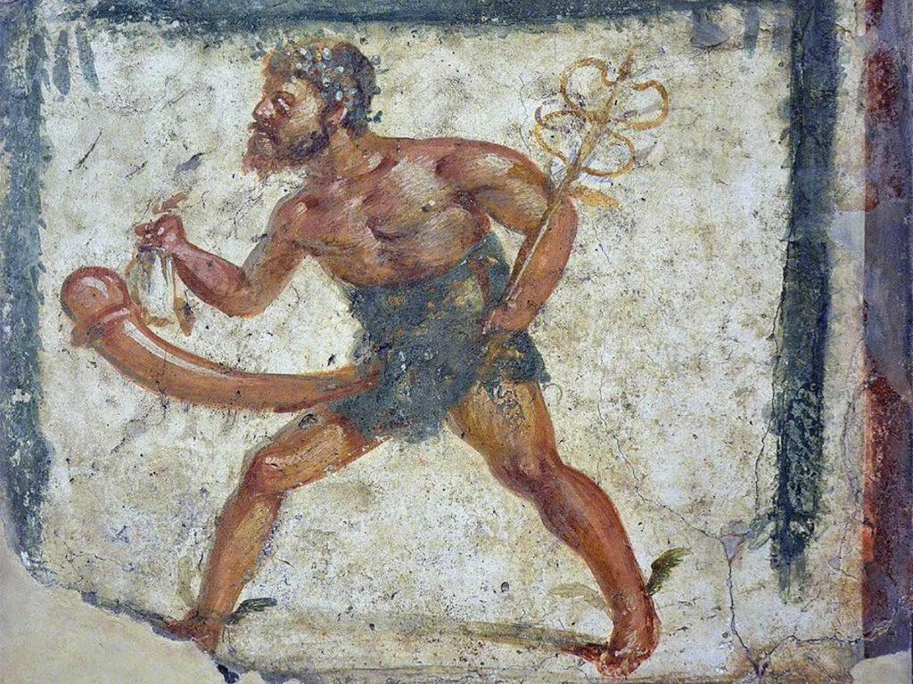 Priapo: Affresco Pompei trovato nel 2008