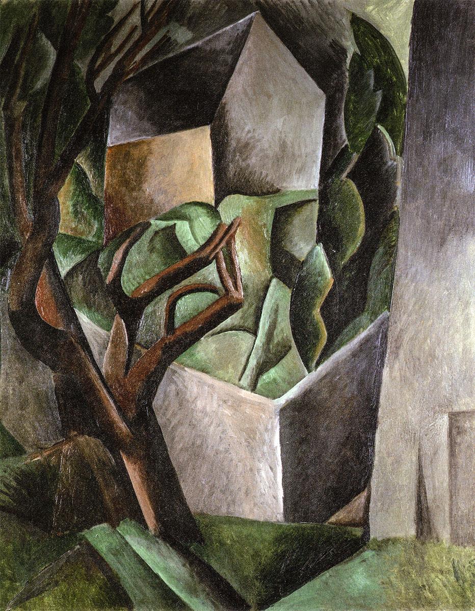 Casetta in giardino, Pablo Picasso, 1908