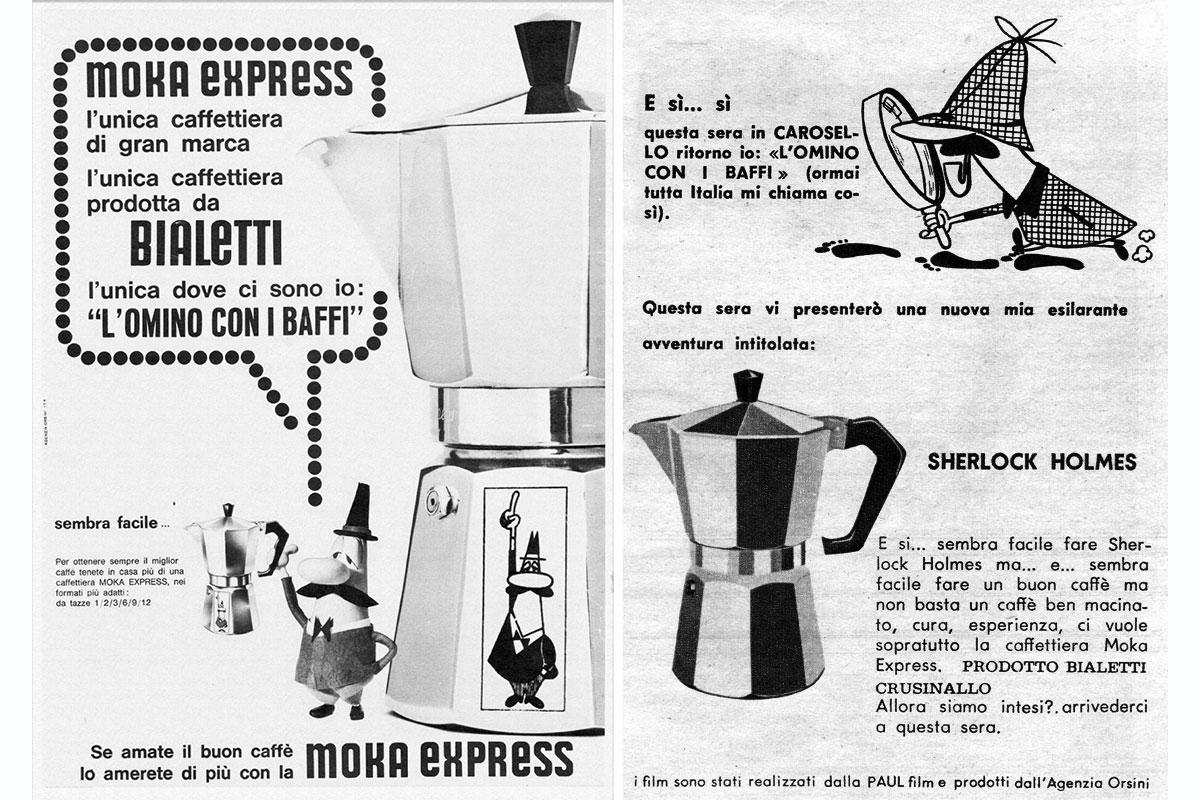 Bialetti: pubblicità d'epoca
