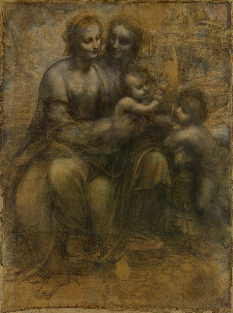 Cartone di Sant'Anna, Leonardo da Vinci