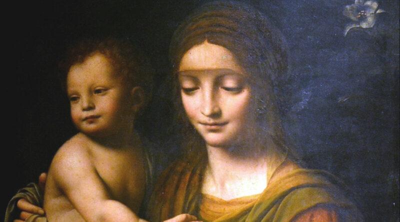 Madonna con il Bambino, quadro di Bernardino Luini