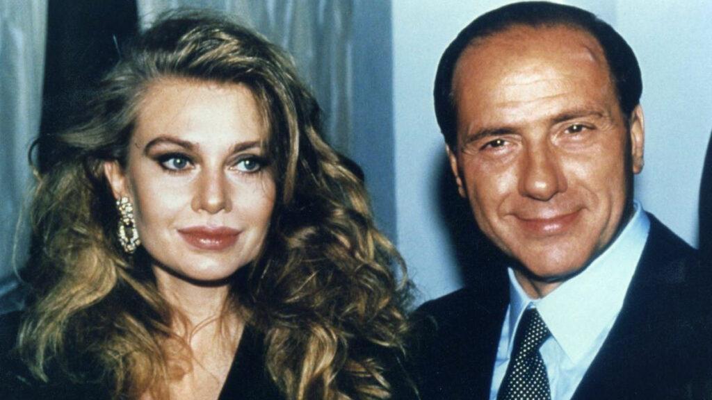 Veronica Lario e Silvio Berlusconi negli anni '90
