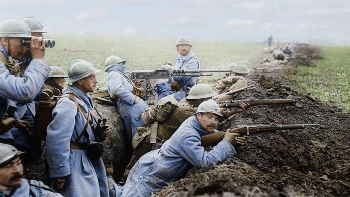 Battaglia di Verdun: una foto di trincea