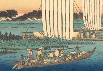 Boats Returning to Gyotoku - Hiroshige