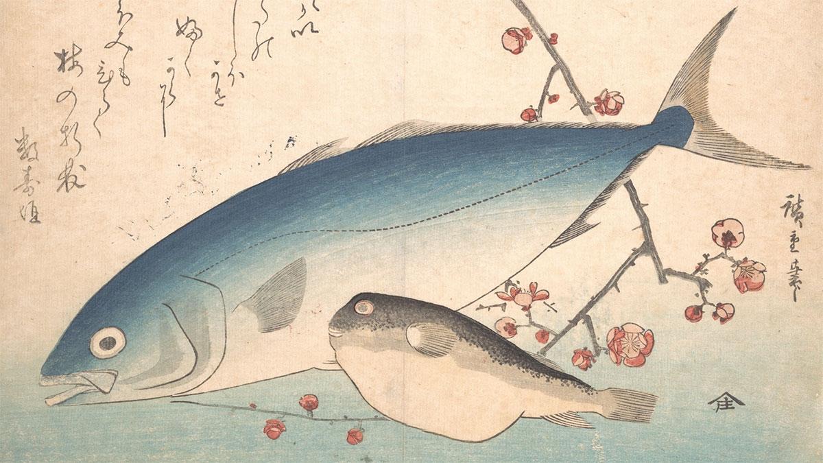 Fugu Inada Hiroshige