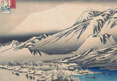 Neve di sera a Hira