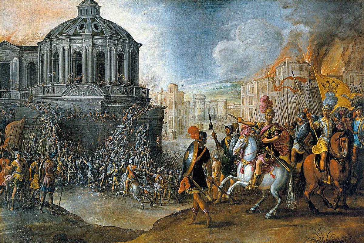 Saccheggio di Roma, 6 maggio 1527